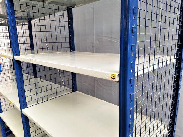 REGAŁ 60x250x303cm/18p Magazynowy Metalowy Garażowy Warsztatowy-OKAZJA