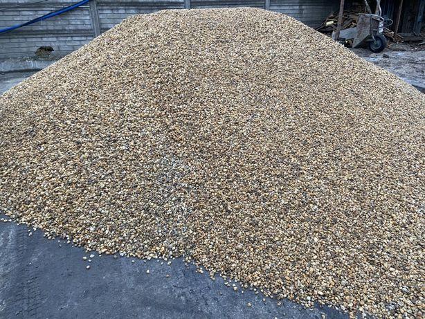 Żwir Kwarcowy Brązowy 8-16mm , 16-32mm inne kruszywa żwir piach kamień