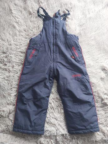 Spodnie narciarskie 110 granagowe