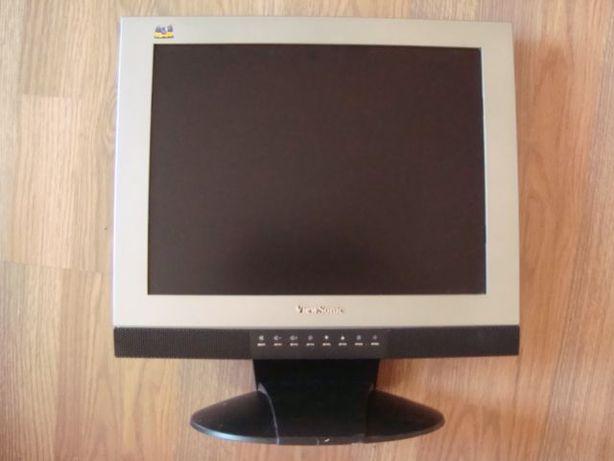 """Монитор 15"""" с колонки, микрофон, Viewsonic VX500 (TRS, VGA, DVI)."""