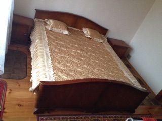 Łóżko podwójne Antyk