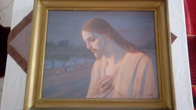 UNIERZYSKI JÓZEF - Chrystus - Pastela