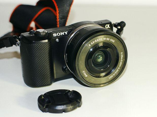 Sony a5000; bezlusterkowiec; 20 mpx