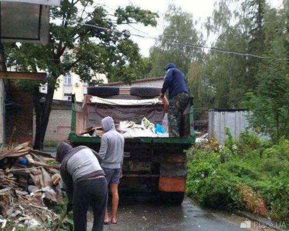 Вывоз строй мусора камаз зил Услуги грузчиков разнорабочих