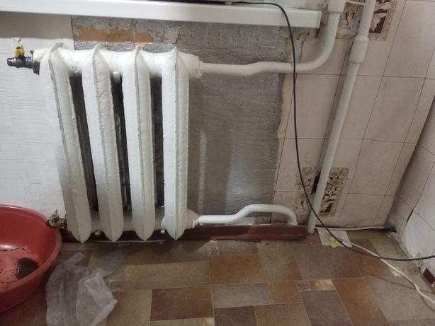 Заміна та промивка радіаторів опалення 500-1500грн