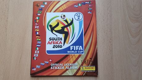 South África 2010 caderneta de cromos Panini