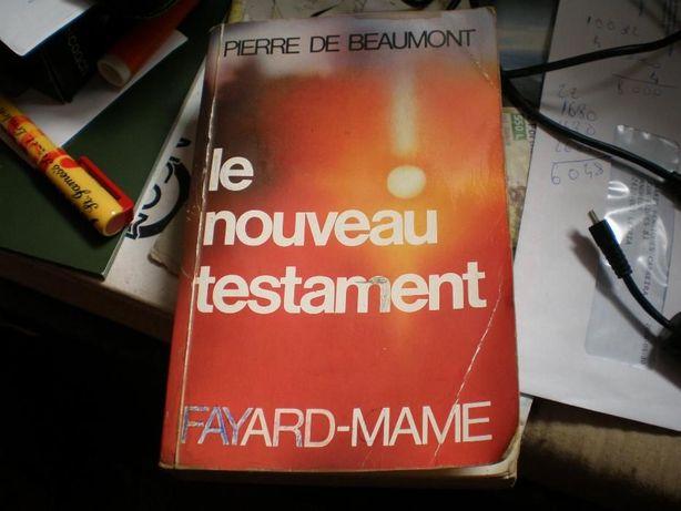 Livro Le Nouveau Testament de Pierre de Beaumont