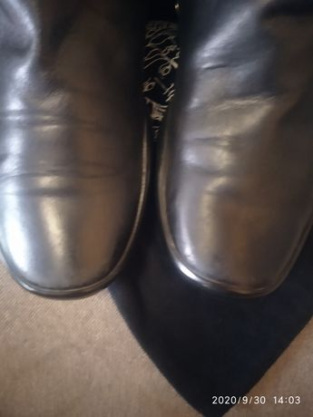 Ботинки PRADA полусапоги мужские