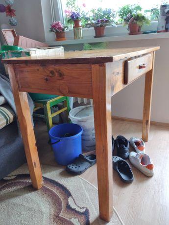 Stół drewniany do odnowienia 50 zł