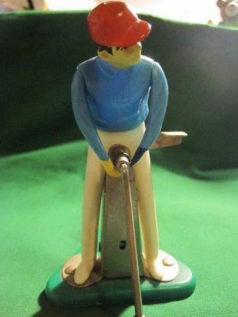 Jogador de Golfe antigo