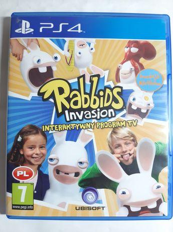 Rabbids Invasion Ps4 PL