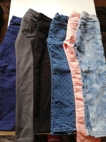 Spodnie dla dziewczynki 5-6 lat