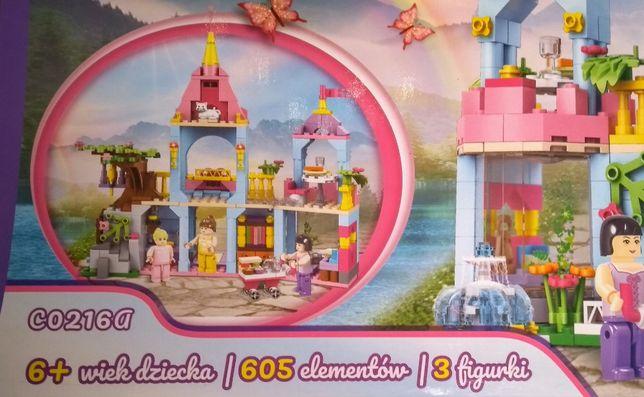 Klocki domek lalek księżniczka kraina zamek j.lego kuchnia friends