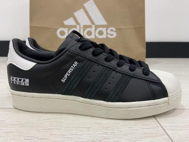Женские Кроссовки  Adidas Superstar Black Оригинал! 37 23 см