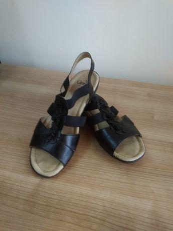 Sandały czarne Caprice r. 39