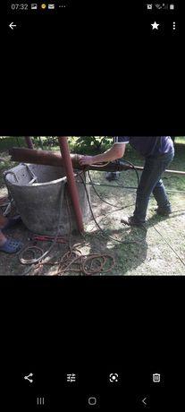 Studnie Betonowe-Czyszczenie