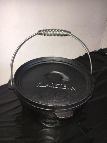 Garnek żeliwny Klarstei piekarnik do gotowania smażenia pieczenia 5,7L
