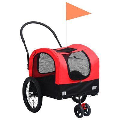 Reboque bicicletas/carrinho para animais 2-em-1 **envio grátis**