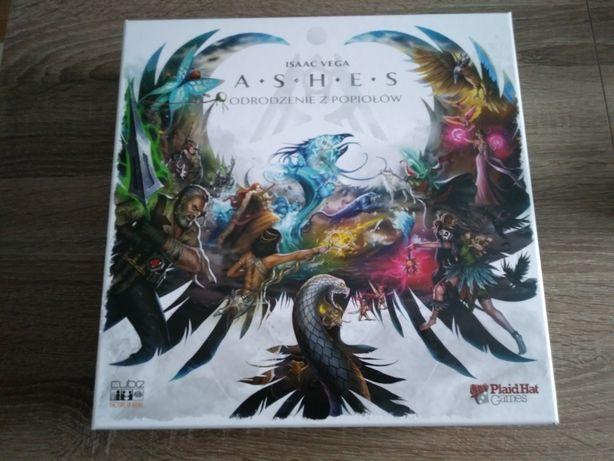 Ashes: Odrodzenie z Popiołów, gra planszowa, karciana