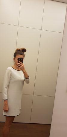 Sukienka/tunima biała S