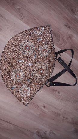 Duża pakowna torba koszyk  Kaliq