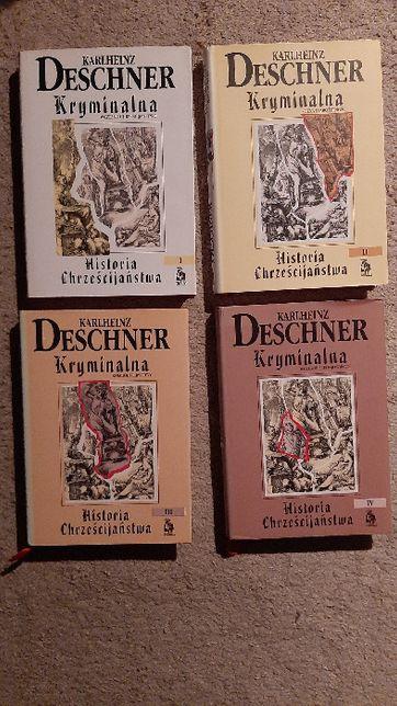 Kryminalna Historia Chrześcijaństwa - KARLHEINZ Deschner Tom I-IV