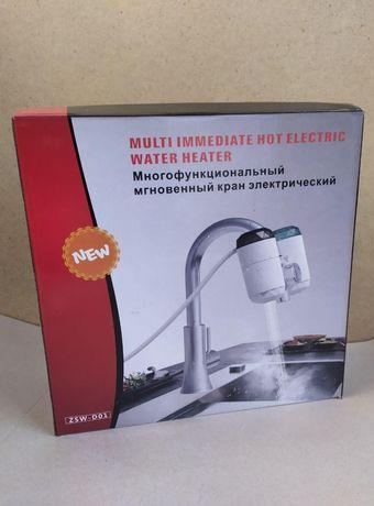 Кран с электронагревом на кухню греет до 60град