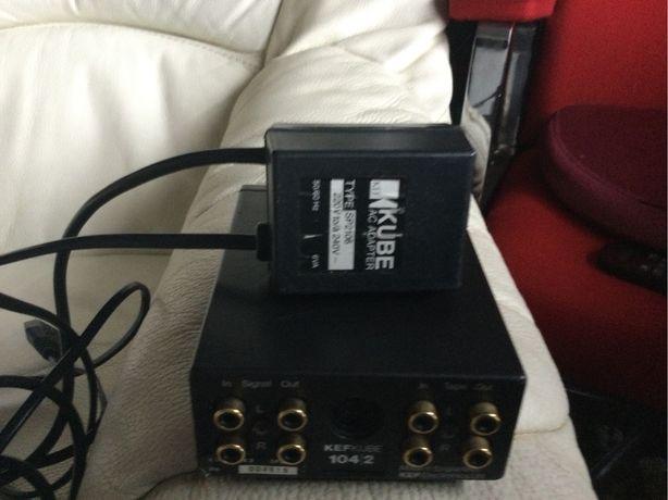 Kef Kube 104/2, equalizador original com transformador original da Kef