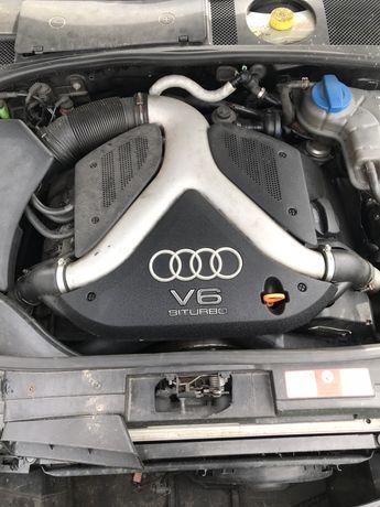 Silnik 2.7 biturbo bi-turbo kompletny 265 koni usa lift APB manual 6