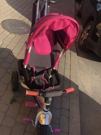 Детский трёхколесный велосипед Lamborghini L2 (ламборгини) колеса пена