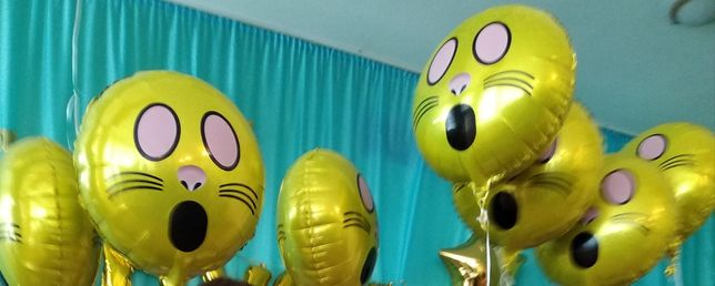 Шарики шары фольгированные