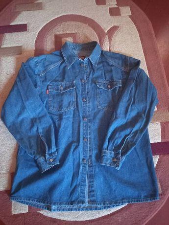 Мужская джинсовая рубашка р. 52
