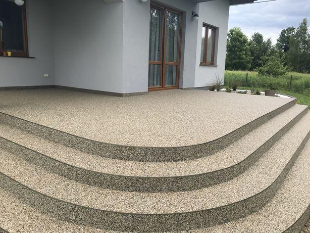 kamienny dywan balkon schody taras hydroizolacja posadzki żywiczne