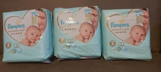 Памперсы 2 ,Pampers Premium Care