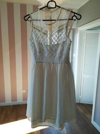 Słodka sukienka Zara, h&m