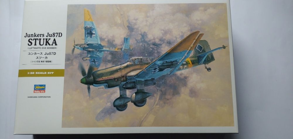 Junkers Ju 87D STUKA Hasegawa Szczecin - image 1