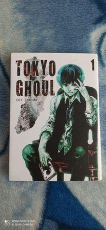 Manga Tokyo Ghoul tom 1 dobry stan