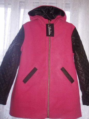 Пальто кашемирове для дівчинки весна