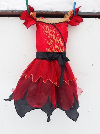 Bal przebierańców- choinka sukienka 110/ 126 F&F