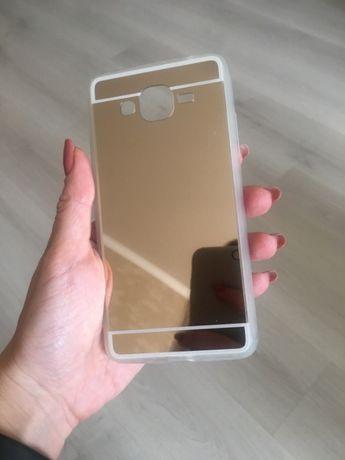 Чехол Samsung G530 зеркальный Чехол Samsung J120 новый + КОЛЬЦО