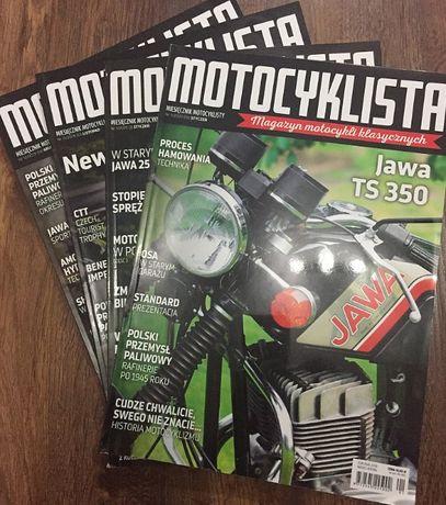Motocyklista rocznik 2019 i 2020 czasopismo