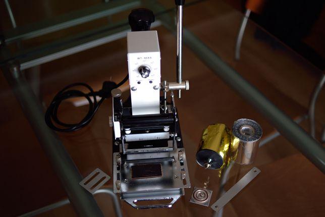 Maquina de pressão a quente para carimbos