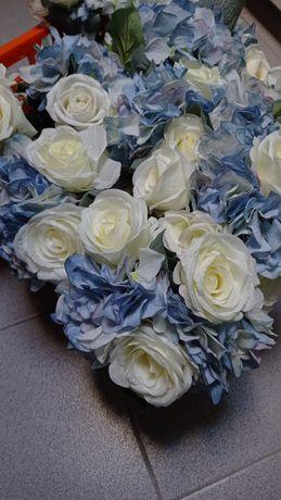 Flores artificiais e arranjos florais