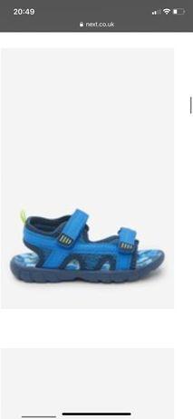 Sandały niebieskie Next 26,5