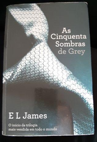 Vendo livro As Cinquenta Sombras de Grey vol. 1