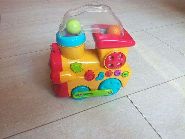 Interaktywna ciufcia lokomotywa zabawka dla dziecka - jak nowa