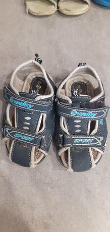 Sandałki granatowe walky sport rozmiar 26