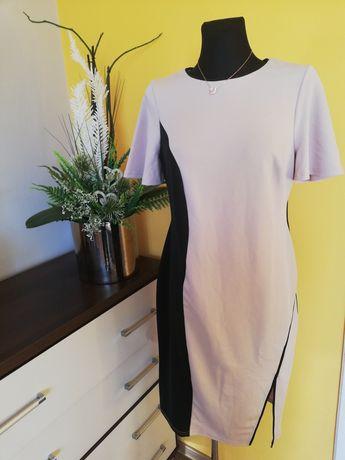 Midi sukienka plus size 44 46 łącznie święta asos