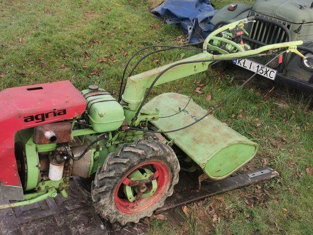 Glebogryzarka Agria Diesel diselek traktorek dzik