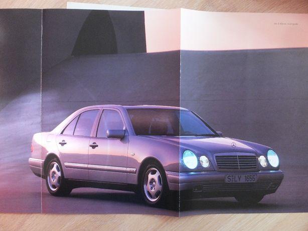 Prospekt Mercedes E-klasse W210
